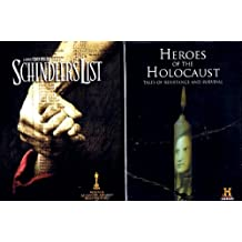 The Holocaust Bundle (2-Pack, 3-DVDs): Schindler's List (1993) / Heroes Of The Holocaust (2008, 2-DVD Set, 5-Films): Angel of Bergen-Belsen / Whatever Happened to Raoul Wallenberg? / M19: Escape and Evasion in Europe / Nazi Ghost Train / Shot From the Sky