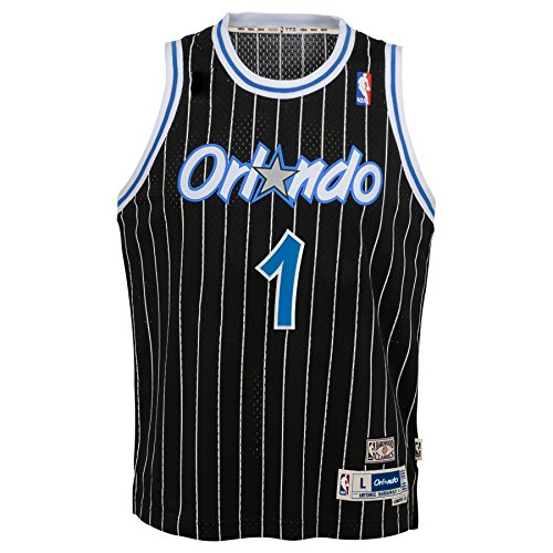Outerstuff Anfernee Hardaway Orlando Magic NBA Youth Throwback Swingman Jersey - Black