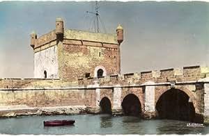 1950s Vintage Postcard Fortress Walls - Mogador - Essaouira Moracco