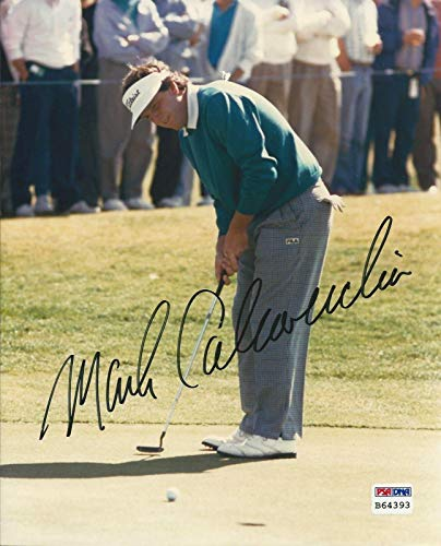 Autographed Calcavecchia Picture - Golfer 8x10#B64393 - PSA/DNA Certified - Autographed Golf Photos (8x10 Golf Photo Certified Autograph)