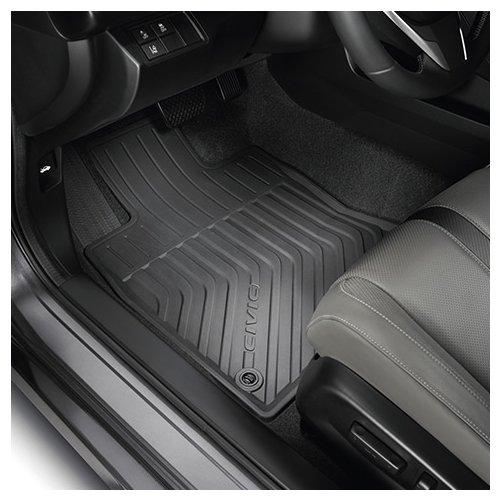 Genuine Honda 08P17-TBA-100 All Season Floor Mats (Honda Civic Rubber Floor Mats compare prices)