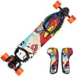 MightySkins Skin for Boosted Board 2nd Generation - Cartoon Mania | Protective, Durable, and Unique Vinyl Decal wrap Cover | Easy to Apply, Remove, and Change Styles | Made in The USA