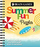 Brain Games - Summer Fun Puzzles: Relax, Unwind, and Give Your Brain a Vacation