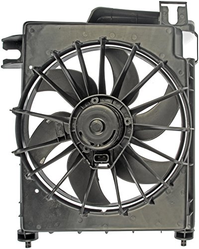 Dorman 620-035 Radiator Fan Assembly With Extra Harness (Dodge A/c Ram Condenser 1500)
