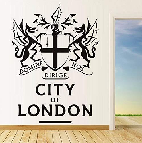 Pbldb 47X59Cm Modern Home Decor City of London