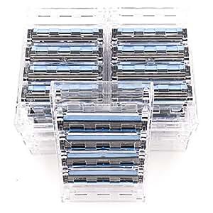 36 Taconic Shave Triple Blade Razor Cartridges - For all Gillette Sensor and Personna Tri-flexxx Razors