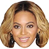 Beyonce Knowles Celebrity Mask, Card Face and Fancy Dress Mask