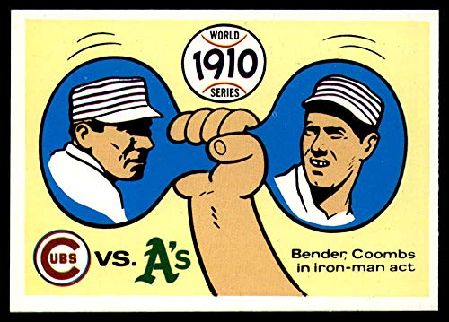 Baseball MLB 1970 World Series #7 1910 - Cubs vs. A's - Chief Bender/Jack Coombs NM Near ()