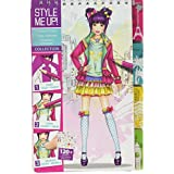 Style Me Up - Fashion Coloring Pad - DIY Craft Kit for Girls - Drawing Book with Stickers and Stencils - SMU-1405