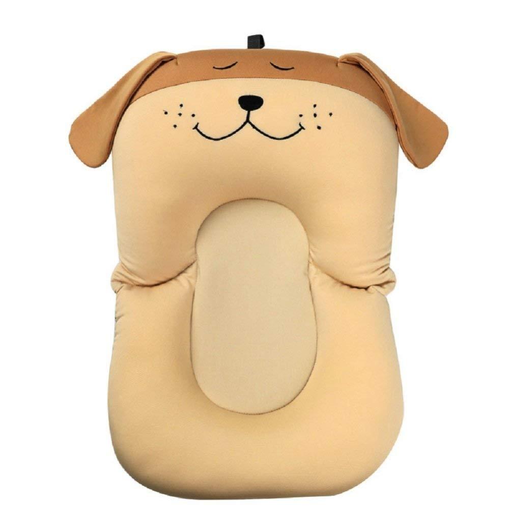 Dog One Size Dog One Size Gperw Bathing Cushion Bathing Non-slip Bath Tub Shower Bed Net Pocket Non Slip Cushion Pad (color   Dog, Size   One Size)