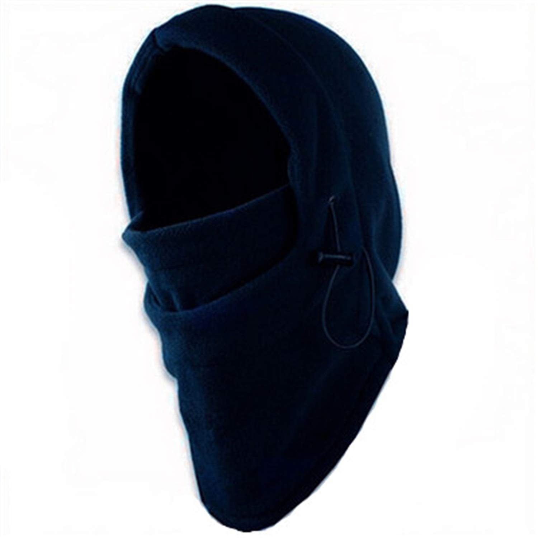 Jeremy Stone Face Mask Thermal Fleece Balaclava Hood Swat Bike Wind Winter Wind-Proof and Sand-Proof Beanies