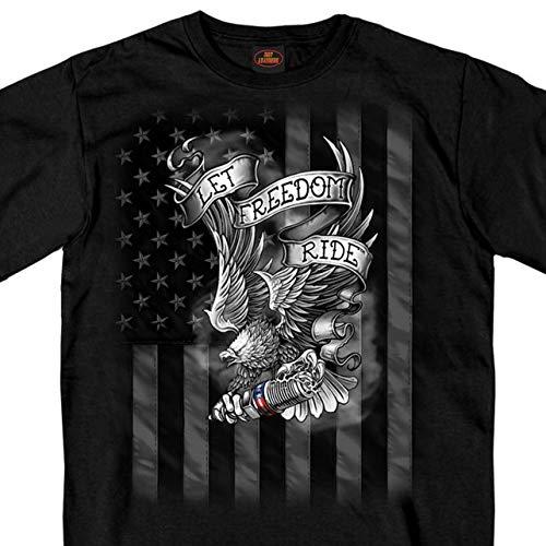 Hot Leathers Unisex-Adult T-Shirt BLACK Medium GMS1422