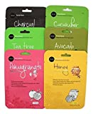 Celavi Essence Facial Mask Paper Sheet Korea Skin Care Moisturizing 12 Pack...