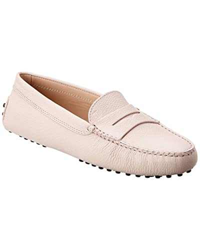 c385ce4031950 Image Unavailable. Image not available for. Color: Tod's Gommino Leather Driving  Shoe, 38, Pink