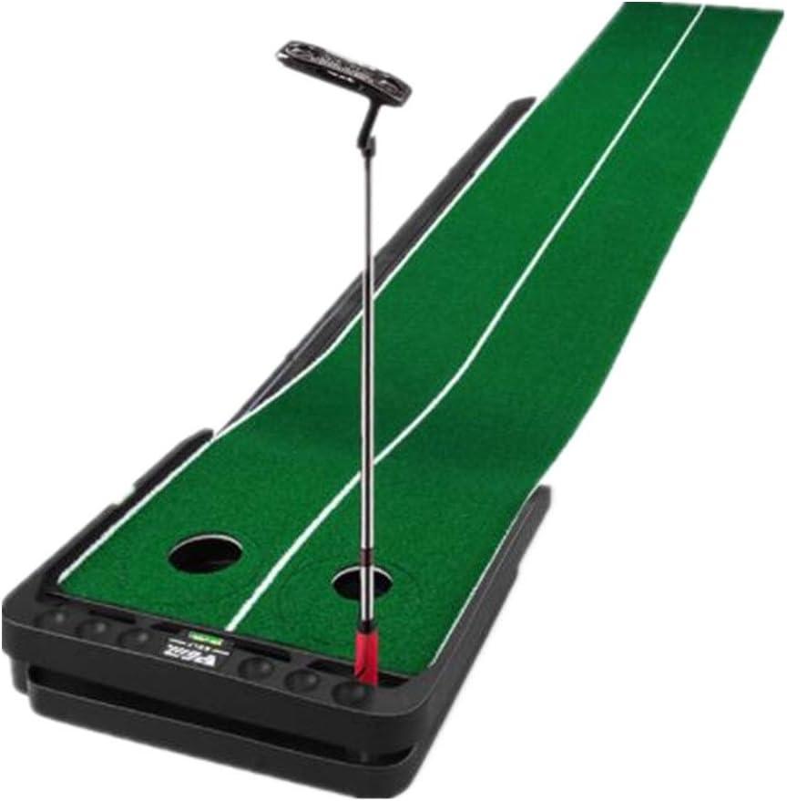 ゴルフ打つマットパー3パッティンググリーン 人工芝ゴルフパッティングトレーナー屋内パットトレーナー調整可能なスロープ多機能拡幅運動毛布 住宅用屋外練習用 (色 : A, サイズ : 300X53X15CM) A 300X53X15CM
