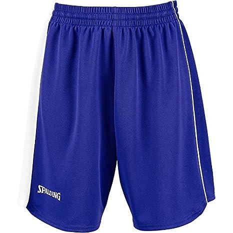 8b350162b80b Spalding 4her II Short de basket Femme Bleu Marine Jaune  Amazon.fr  Sports  et Loisirs
