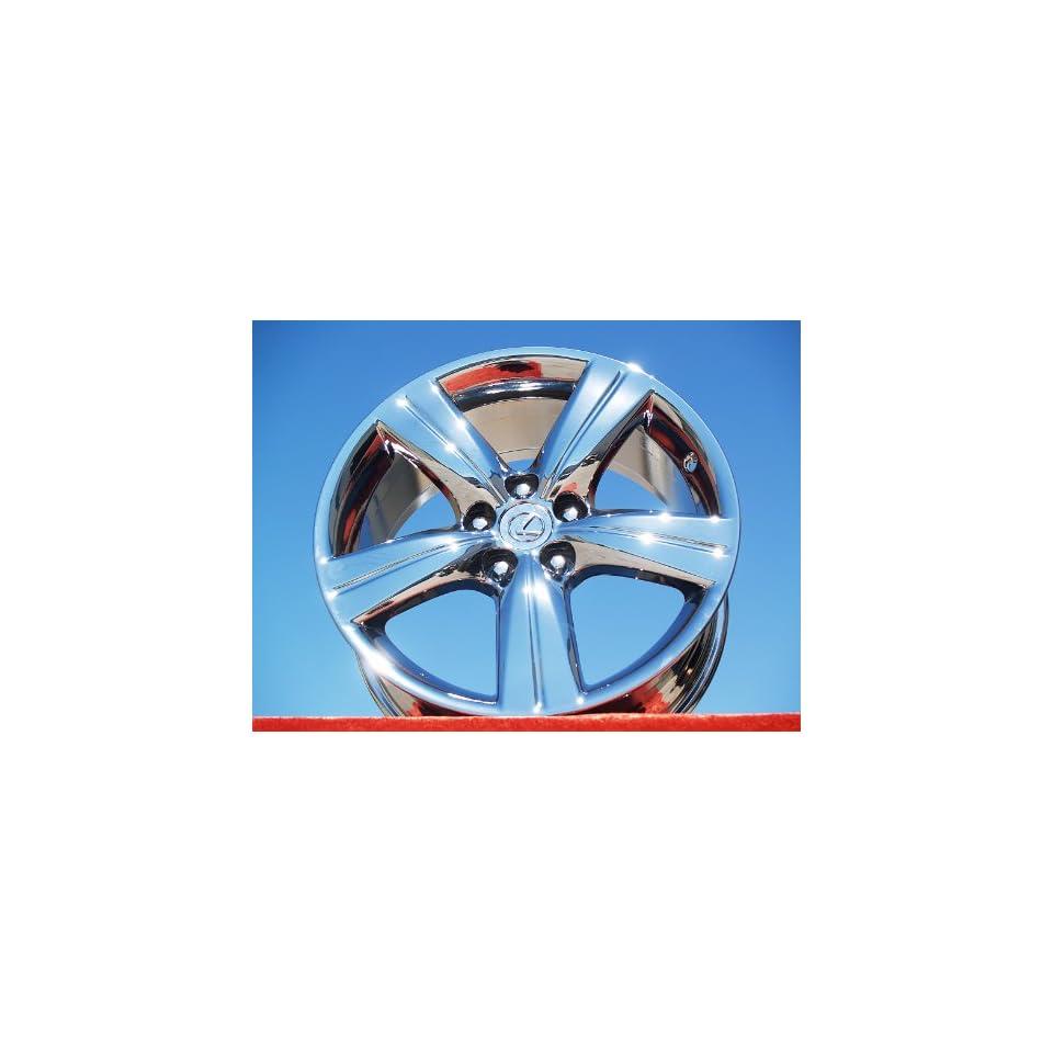 Lexus GS350/GS430 Set of 4 genuine factory 18inch chrome wheels