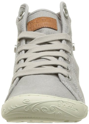 Mode Palladium Pldm Gris Twl Femme Gaetane 059 grey Baskets By FaXrqxXnR