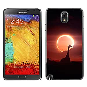 Stuss Case / Funda Carcasa protectora - Animal Sun Filled Image - Samsung Note 3 N9000
