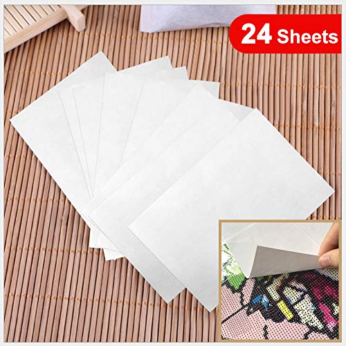 5D Diamond Painting Accessories 15X10cm Release Paper Non-Stick Cover Replacement Full /& Partial Drills Diamond Painting Kits Gift for Adults.