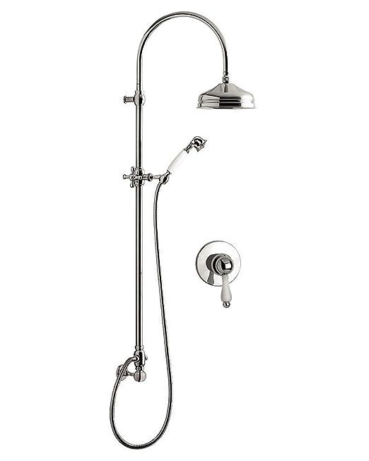 Set ducha empotrar monomando Harmony, soporte enchufe/agua ...