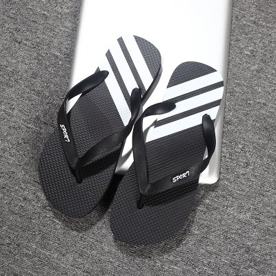 Soft Students The Male Slip The Black fankou Foot Slippers Trend Slippers That Non Wear Beach B Cool Grip and Drag 41 Summer Fashion and aYqtUx
