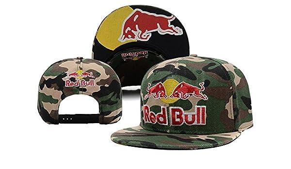 Trentini Camuflaje Red-Bull Clean Up Ajustable Gorro, Gorra, Talla ...