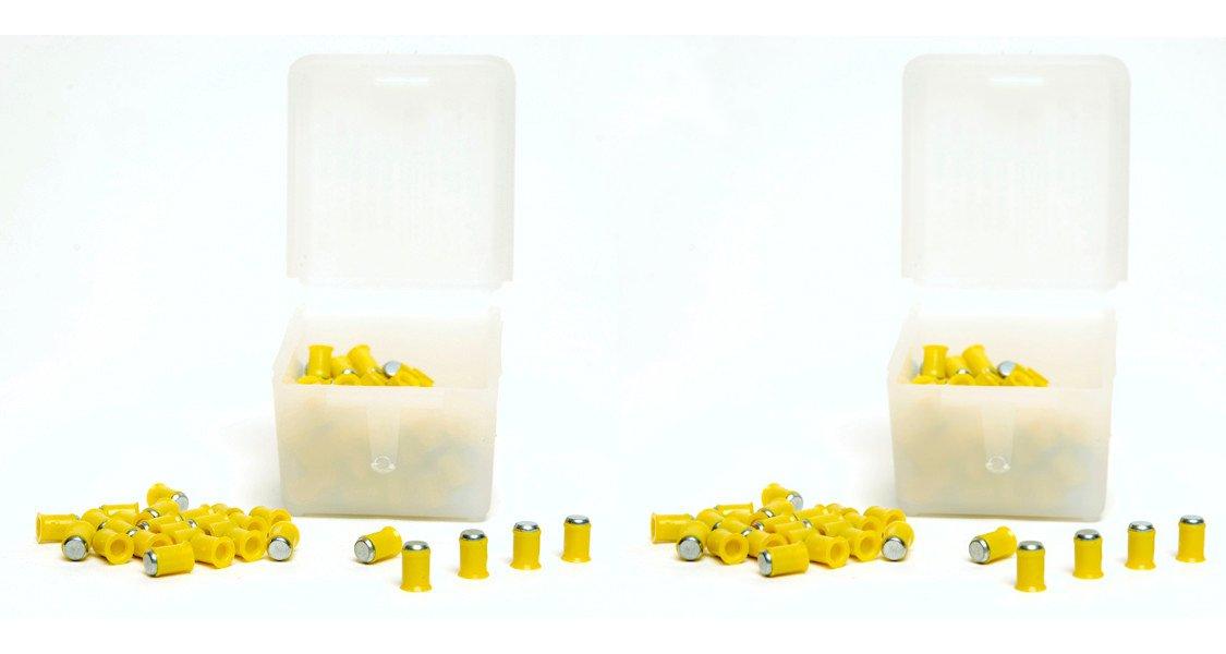 Pack 2 cajas de 125 balines especiales Prometheus 4, 5mm. Modelo especial para pistolas Co2. El perdigón de mas penetración del mercado