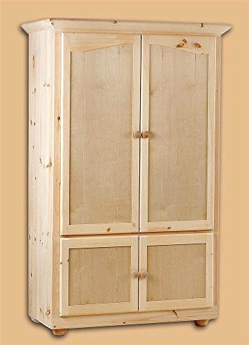 Chelsea Home Duxbury Unfinished 46 in. Wardrobe Armoire