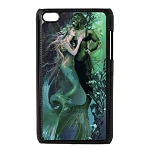 iPod Touch 4 Phone Case Printed With The Little Mermaid Images