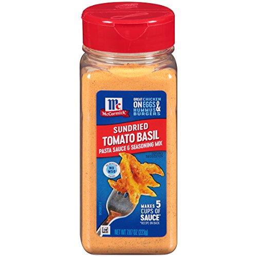 McCormick Sundried Tomato Basil Pasta Sauce & Seasoning Mix, 7.87 oz