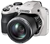 Fujifilm FinePix S9400W / S9450W - 16.2 Megapixel CMOS, 50x Zoom, WiFi Digital Camera with 3.0-Inch LCD Display - White (Renewed)