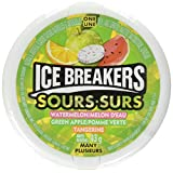 ICE BREAKERS Fruit Sours Mints, 43g (Pack of 6 * 43g)