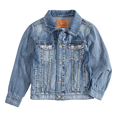- Levi's Boys' Big Denim Trucker Jacket, Jackson, M
