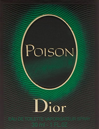 Christian Dior Poison Eau de Toilette Spray for Women, 1 Ounce