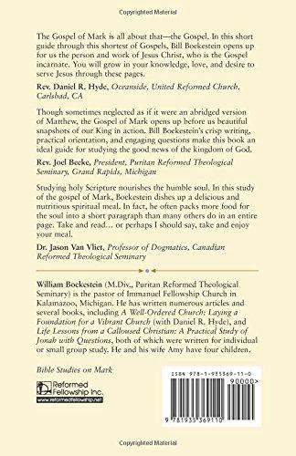 Bible Studies on Mark: William Boekestein: 9781935369110: Amazon ...