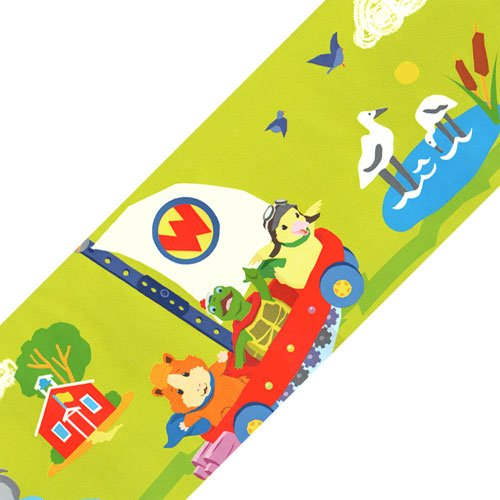 Nickelodeon Wonder Pets Animals Green Wallpaper Accent Border Roll]()