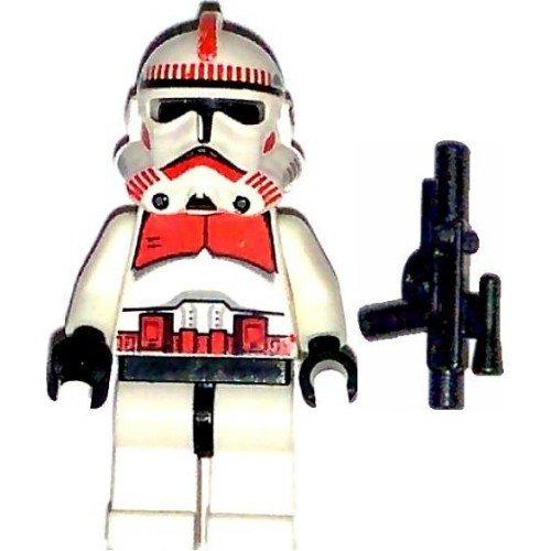 LEGO Star Wars Minifig Clone Trooper Episode III Shock Trooper (Shock Clone Trooper)