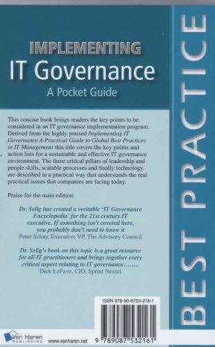 Implementing IT Governance: A Pocket Guide (Best Practice (Van Haren Publishing))