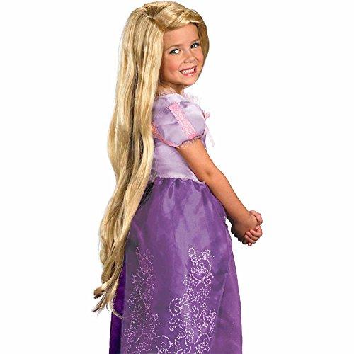 Party Hair's Children's Rapunzel Wig, Princess Wig, long blonde wig, Repunzel (Rapunzel Wig Kids)