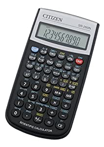 Citizen SR-260N Bolsillo Scientific calculator Negro - Calculadora (Bolsillo, Scientific calculator, Negro, Botones, Batería)