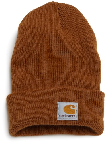 Carhartt Boys' And Girls' Acrylic Watch Hat, Carhartt Brown, Toddler]()