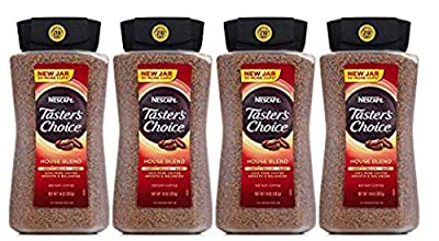 Taster's Choice Original Gourmet Instant Coffee 14 Oz, Pack of 4 from Taster's Choice