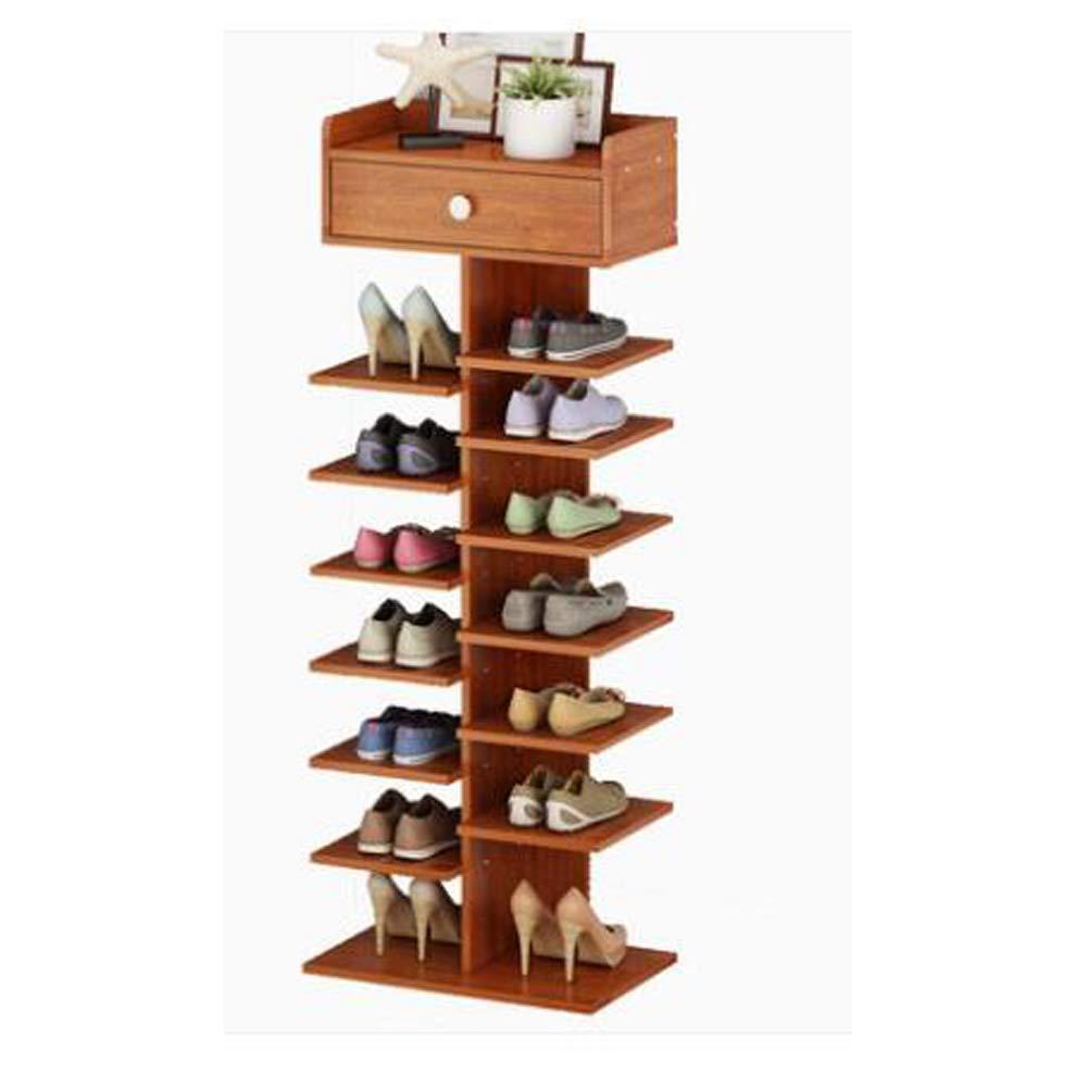 de m/últiples Capas Estante Sala de Estar Mini gabinete de Zapatos ZGZYLDD Zapatero Simple Puerta del gabinete peque/ño Ahorro de Espacio Zapato de Gran Capacidad para el hogar