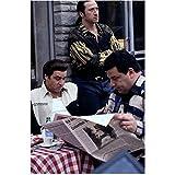 The Sopranos (TV Series 1999 - 2007) 8 Inch x10 Inch Photo Federico Castelluccio, Joseph R. Gannascoli Newspaper & Steven Van Zandt kn