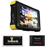 Atomos Shogun Flame 7 4K HDMI/12-SDI Recording Monitor Bundle With SanDisk 240GB Extreme Pro Solid State Drive