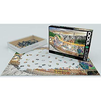 EuroGraphics Barcelona Puzzle (1000 Piece), 1000 Piece Puzzle: Toys & Games