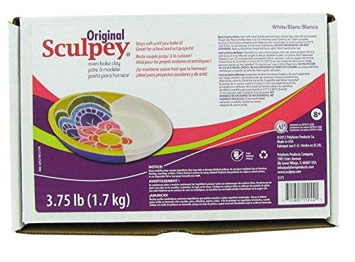 - Sculpey Original Clay, 3-3/4-Pound, White