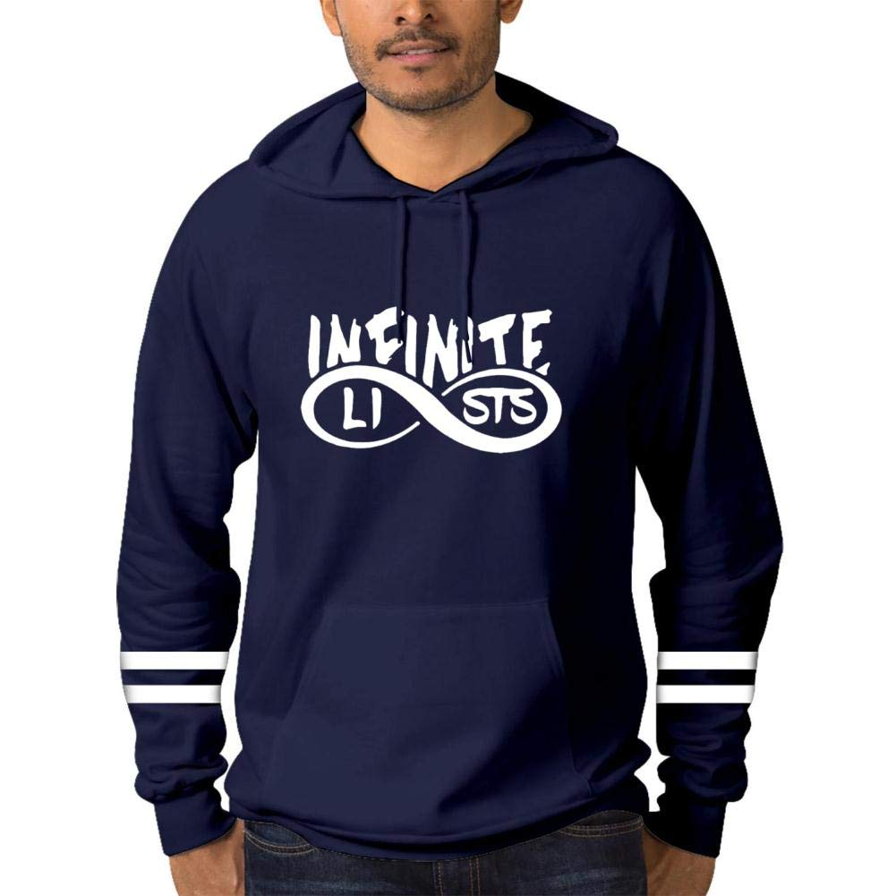 Soft in/_f1n1/_te/_Style Hoodie for Men Cotton Hooded Sweatshirts with Pockets Hoody
