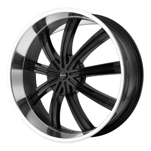 24x9.5 KMC Widow (Gloss Black Machined) Wheels/Rims 6x135/139.7 (KM67224966335)
